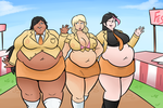 Comm- Fat Friends by Lewdsona