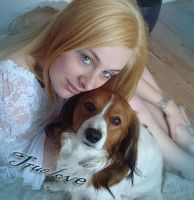 Me and my dog by Miss-evill