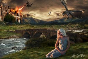 Daenerys Targaryen, The Rising by G1mm1ck