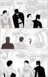 Revised Batman and Superman Chat by Jedex