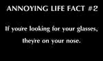 Annoying Life Fact #2 - Glasses by SoaringAven