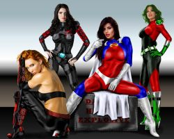 Heroines by ChillyPlasma by jhansard