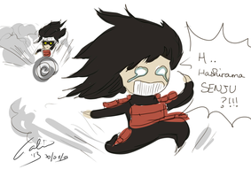 When Madara sees Hashirama.. by GgaallaaM