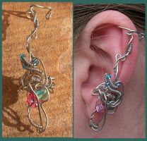 Pixie Pretty Ear Cuff by balthasarcraft