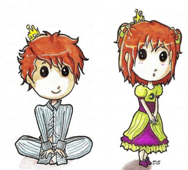 .The Prince and The Princess. by Nikeru