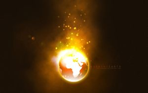 Burning Earth - Wallpaper Pack by devilshark