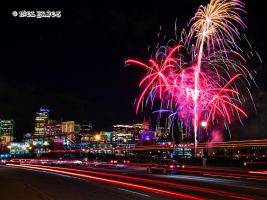 Coors Field Fireworks 3 by niel4