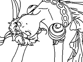 Fainted Princess Coloring Page by ParamourPhoenix