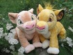 .:DisneyStore Simba and Nala:. by Wolvesforeva