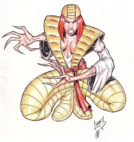 Lady Deathstrike 02 by LucasAckerman