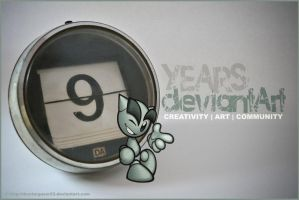 niNe years of creatiVity by thestargazer23