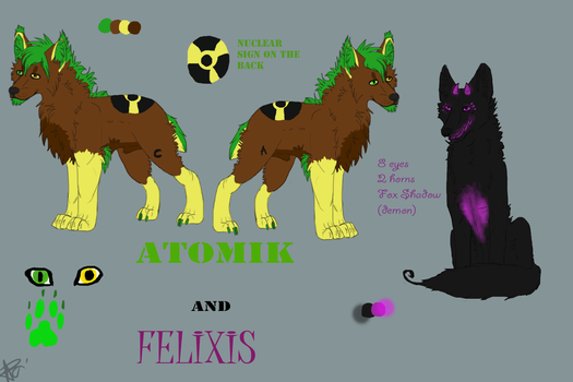 Atomik and Felexis by Apossi