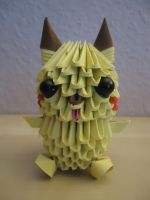 3D Origami - Pikachu - 1 by Mixowelle