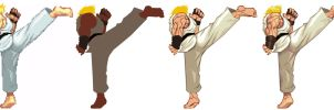 Street Fighter HD - Ken Kick by UdonCrew