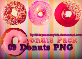 Pack Donas PNG by MileyUAreMyLife