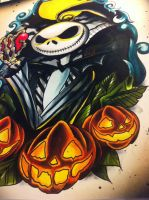 Nightmare Before Christmas Jack by WillemXSM