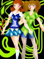 twin sisters, will be able to by Juli-sempaii