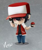 Trainer Red Nendoroid by NesuKurosu