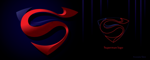 Superman - logo by model850