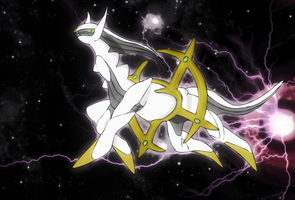 Arceus wallpaper by Elsdrake