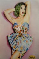 katy perry green hair by abadyra