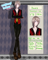 FC Application: Damis [Retired] by Pinepuruu