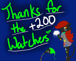 Thanks guys~ by TheMidnightMage