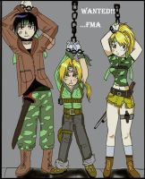 FMA Wanted by rose123321123