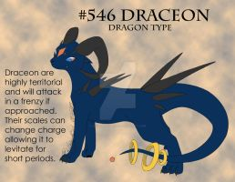 Eeveelution: Draceon by lilwyverngirl
