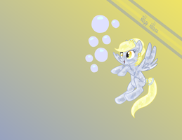 Crystal Derpy Hooves Wallpaper by green070800