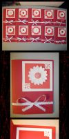 Red Flower Cards by Jetyra-Luck