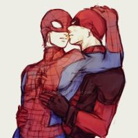 Spideypool5 by LKiKAi