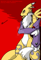 Renamon by Darulio-Riku