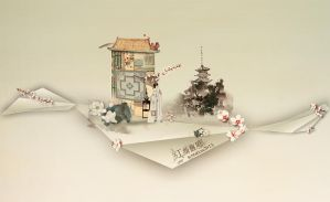 The past eolian and beautiful woman by HelloOv