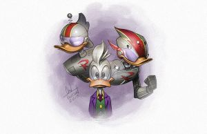 Gizmoduck by ChadTHX1138