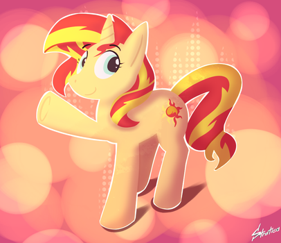 Sunset Shimmer by Stratica