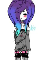 Pastel Goth by Lyssasaurx3