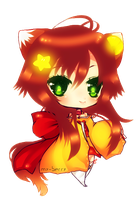 Chibi Rika Contest Entry by my-berry