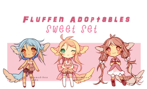Fluffen Adopts: Sweets! (ENDED) by Steamed-Bun