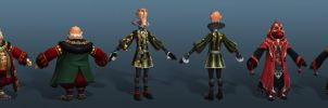 Settlers 7 Sequence Characters by polyphobia3d