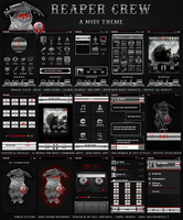 Reaper Crew MIUI Theme by melissapugs