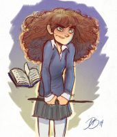 Hermoine Granger - Humidity Spell by DaveJorel
