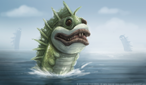 DAY 237. Sea Beast by Cryptid-Creations