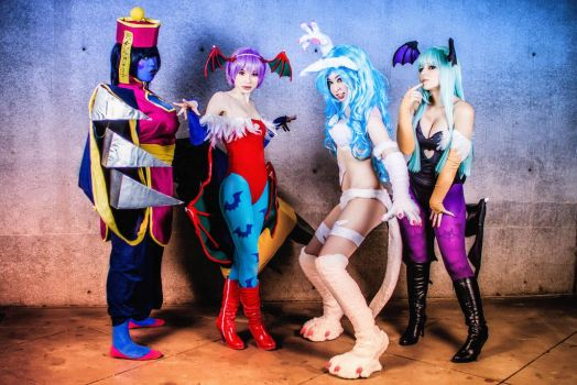 The Darkstalkers by KanekoCosplay