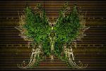 Butterfly.7. Green. by Attave
