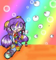 ::Rainbow Bubbles:: by Shadow-Luna