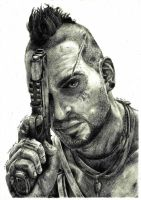 Far Cry 3 - Vaas Montenegro by PatrisB
