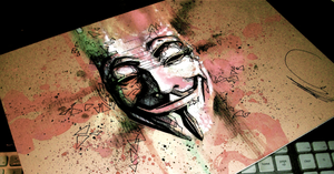 Guy Fawkes by Flashback33