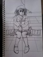 Alina: By My Side Lineart by Millie-Rose13