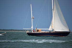 FortMaconBeach Sailboat 2 by MrsChibi